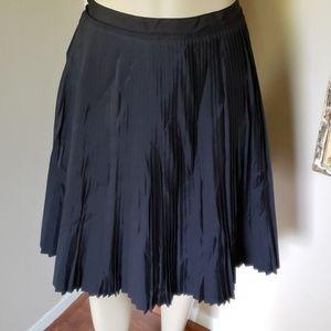 Banana Republic Black Pleated Skirt - NWT